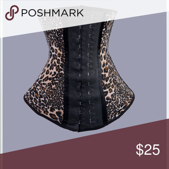 Leopard print waist trainer Cute leopard print waist trainer ( also in black) Great for waist reduction. Use during a light workout of around the house cleaning. Very aggressive trainer as seen on tv celebrities. New never used. Comes with care instructions. Also available active length (shorter in length) to allow more movement. Active length available in color red, leopard and pink.          🎭 belladonna Intimates & Sleepwear Shapewear