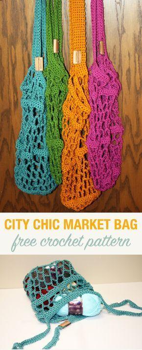 City Chic Crochet Market Bag   Crochet & Amigurumi Corner ...
