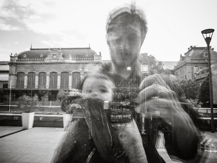 Selfie with my son. Budapest - 2017.
