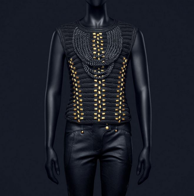 Black and gold will always win. #balmain #hm