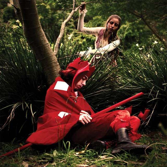 Alice and the Red King