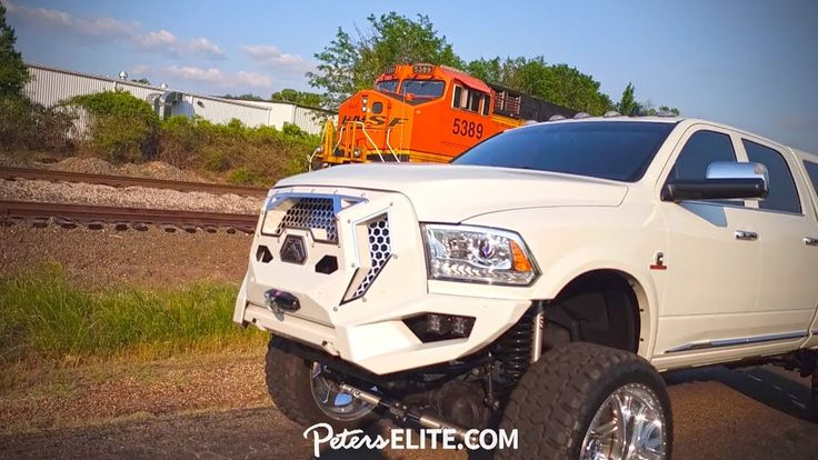 Latest Dodge RAM THE GRUMPER vs. TRAIN 11598 Woodmere