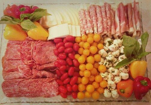 Antipasti Platter for Italian themed shower