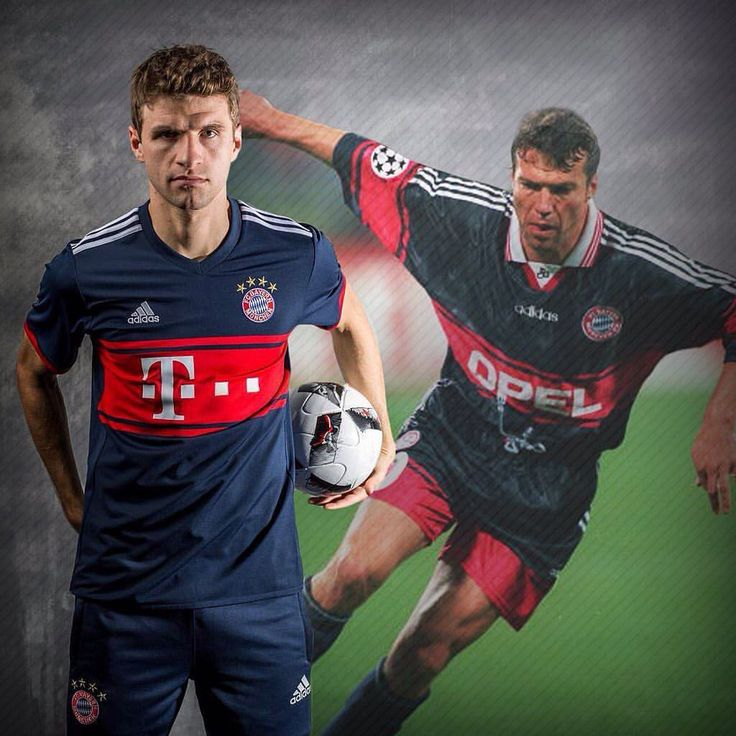 """1,172 Likes, 19 Comments - Classic Football Shirts (@classicfootballshirts) on Instagram: """"Shirt news: Bayern Munich have released their new away kit which is inspired by the 97-99 home…"""""""