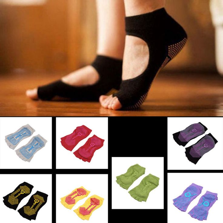 Features: Made from cotton, it's perfect for yoga, and very comfortable. - Open design allows for better tactile feel and balance. - The Socks keep your toes happy as they flex, point, dance, and spre