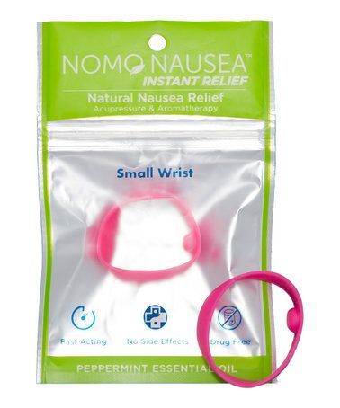 Small Pink Peppermint Anti-Nausea Band - Set of Two #zulily #zulilyfinds