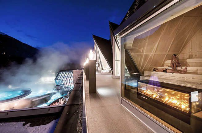 9 World-Class Spas in Surprising Places – Fodors Travel Guide - AQUADOME in Langenfeld, Austria