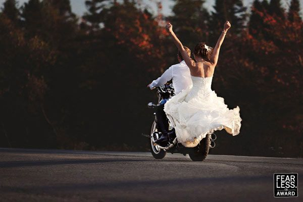#bikerwedding #ChopperExchange #bikerlove 50+ Best Award Winning Professional Wedding Photography Pictures By Fearless Photographers: