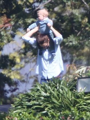 After days of formality on their royal tour of Australia, Kate, Baby George and William enjoy a day off in Canberra | thetelegraph.com.au