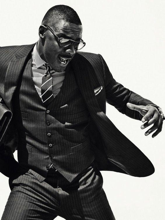 I would be ok seeing this man neked. . Idris Elba + Photographer Sebastian Kim