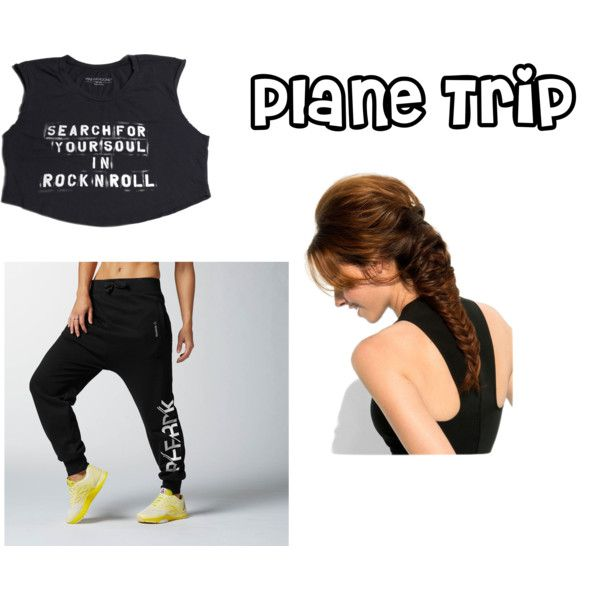 """Plane Trip"" by calialilove on Polyvore"