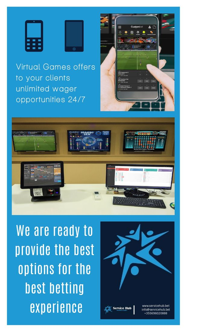 Virtual Sports Software Non-stop Action.  Increased Turnover.  Healthy Margins. Key Features  -Real money betting and immediate payouts 24/7 -New event every 3 minutes in every game -Enhanced 3D visualization and sound effects -Multi-language and multi-currency capability -Fully configurable and customization -Regular and Special bets available -Margins set by operator  #betting #software #provider #virtualgames   www.servicehub.bet