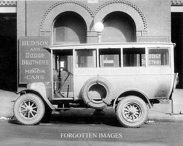 Hudson Dodge Dealership And Delivery Truck 1910s. 8x10 photo print. $12.95.