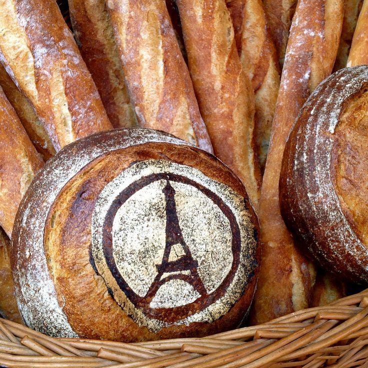 Eiffel Tower bread