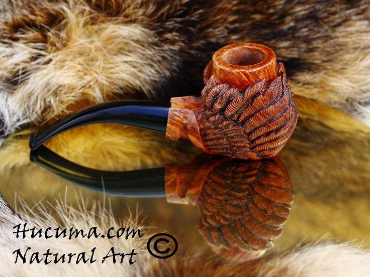 HUCUMA. artesanía en hueso y de diseño.: Pipa exclusiva En brezo