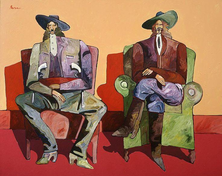 """Thom Ross's Contempary Theme of Wild Bill Hickok & Buffalo Bill -   """"Hickok and Cody"""""""
