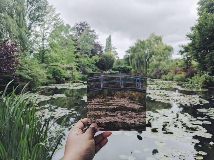 """Come in un dipinto di Monet! 🌹🌷🌸🌺🌻 A Giverny alla casa del celebre pittore, a solo un'ora da Parigi! - Ama Liyanage (@amailk) su Instagram: """"Monet's lily pond"""""""