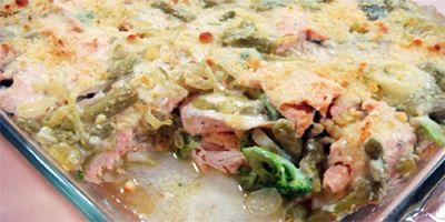 Delicia de pescado salado | Recetas de Cocina - cocinar facil online