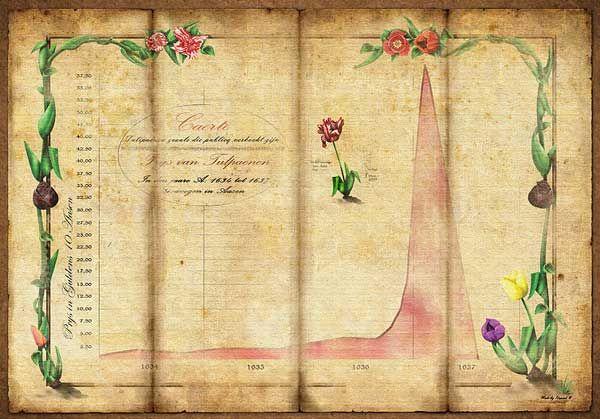 Tulipomanía, la primera burbuja especulativa de la historia