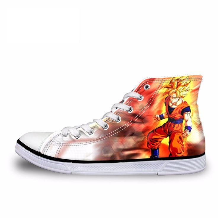 Dragon Ball Z Custom Shoes For Sale - Free Shipping Worldwide
