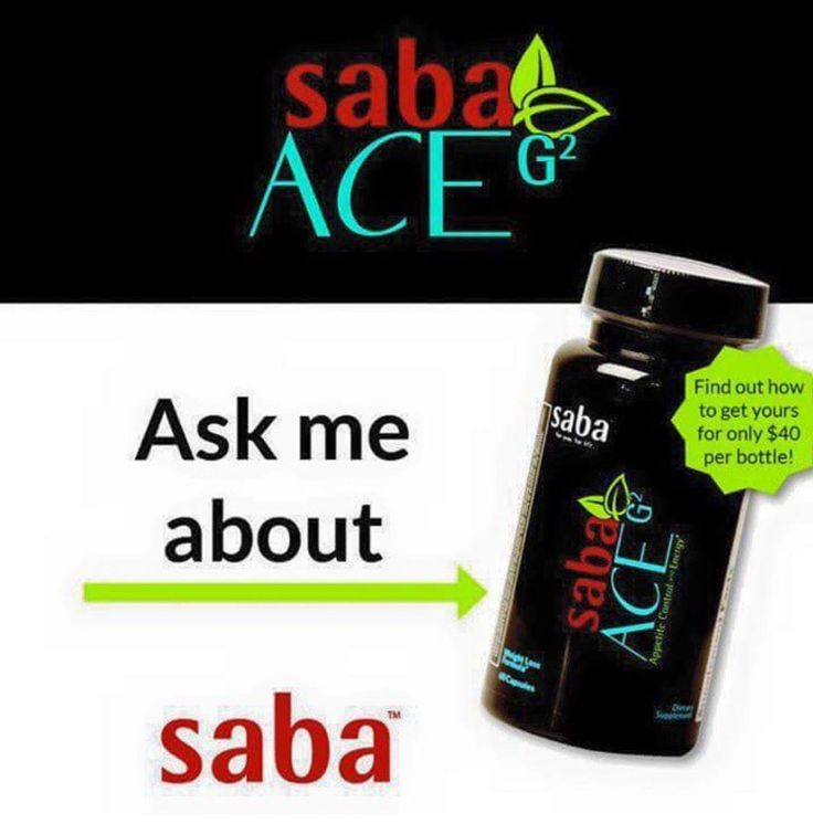 Have you tried Saba's New ACE G2?!!  Everyone is LOVING it!!  Super strong Appetite Control...the Energy is Perfection...and mood enhancers so that you feel GREAT!!  New ingredients to help speed up your metabolism and burn fat!  Get yours today!  $60 for the 60 ct bottle at http://aceg2diet.com with Free Shipping!  Always in Stock!! <3