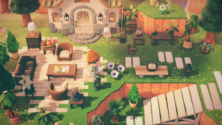 Cute Animal Crossing Entrance