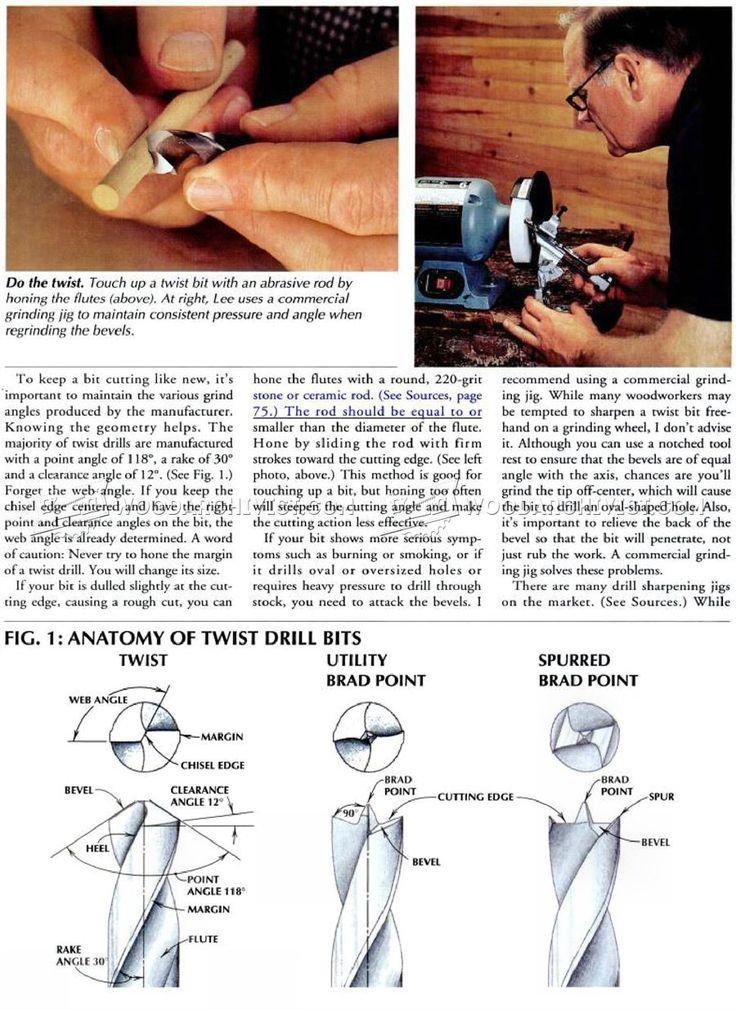 Sharpening Drill Bits - Drill Sharpening | Workshop - Drill, Baby ...