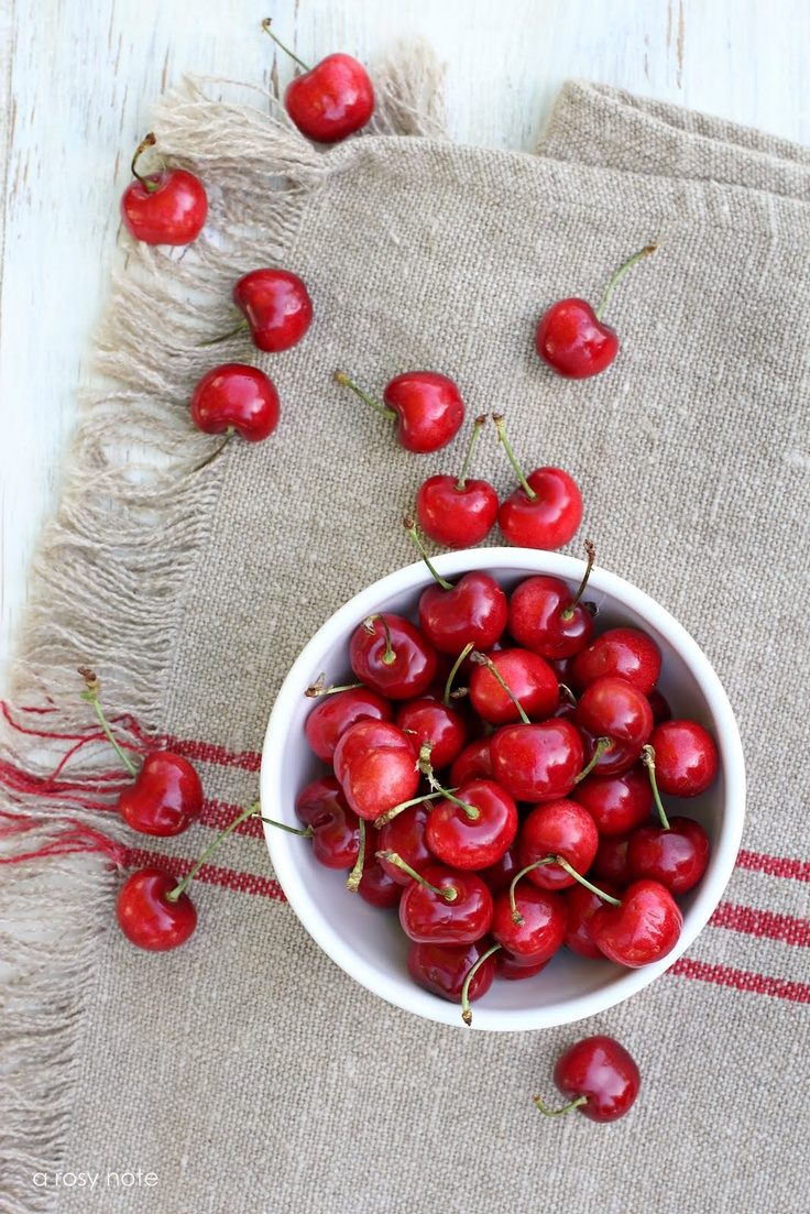 Rosy Red Cherries