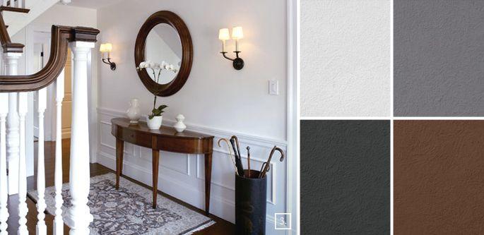 Inbetween Rooms: Hallway Paint Colors | Hallway paint
