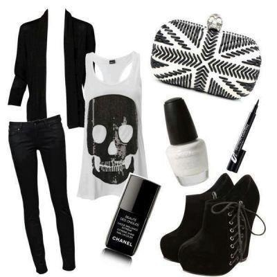 I found Punk outfit on Wish, check it out!