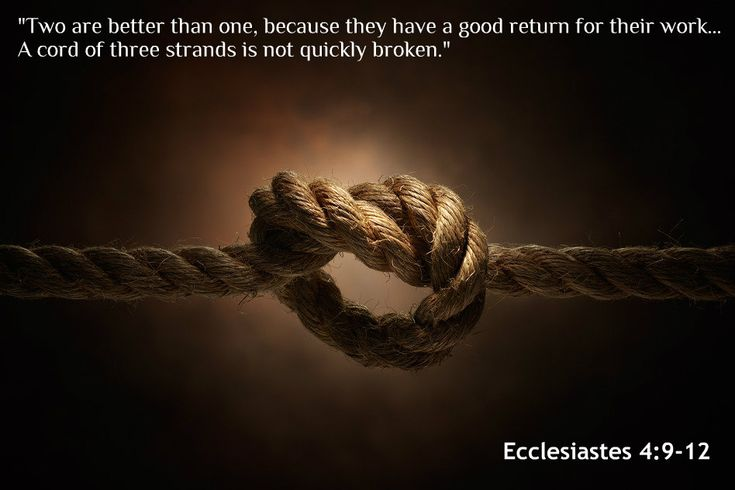 Two are better than one, because they have a good return ...