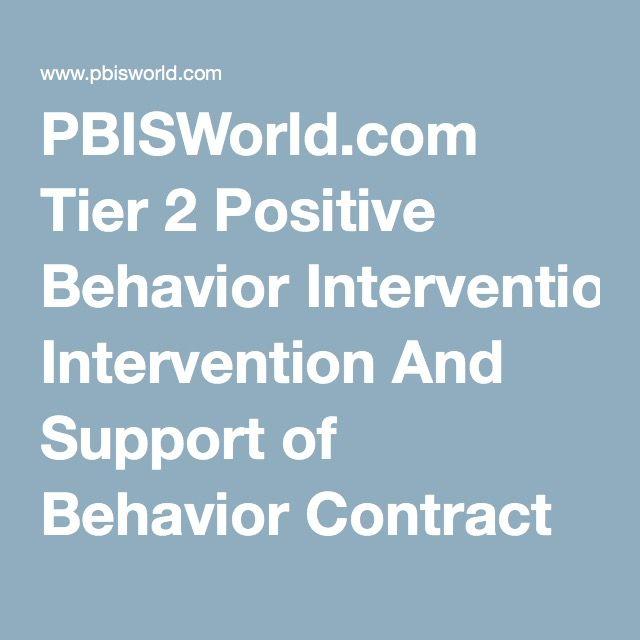 The  Best Behavior Contract Ideas On   Behaviour