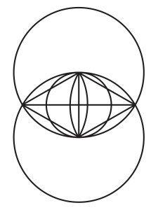Vesica Piscis - sacred geometry symbol
