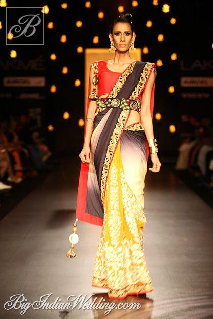 Vikram Phadnis at Lakme Fashion Week 2013