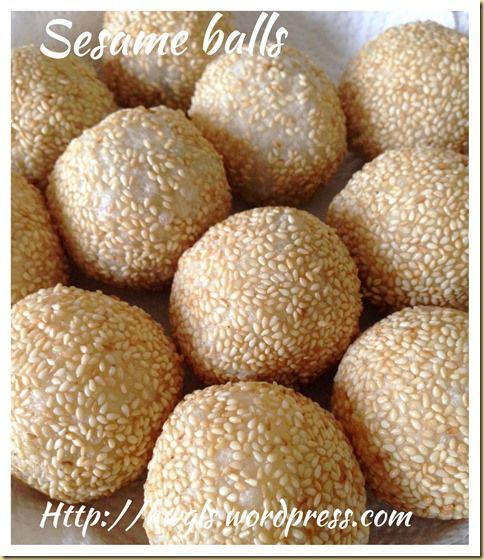 My Ugly Sesame Balls–Sesame Balls or Jian Dui or Kuih Bom (煎堆,芝麻球) | GUAI SHU SHU #guaishushu #kenneth_goh #jian_dui  #kuih_bom #sesame_balls  #煎堆  #芝麻球