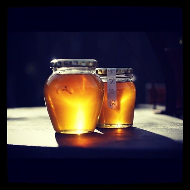 Raw honey @starlingscafe