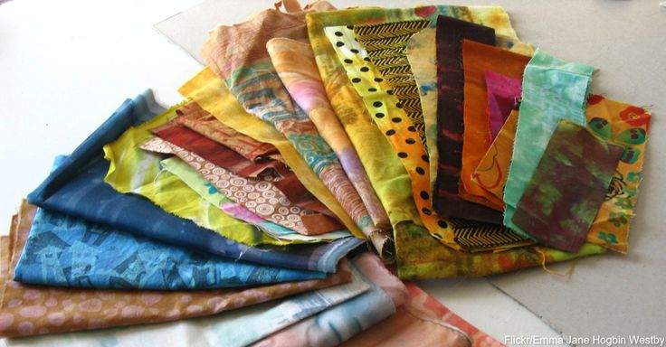 How High Is Your Fabric Scrap Pile? Use Up Scraps With These Quick Projects