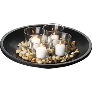 Round Candle Garden $14 --  It's the little things that make a big impact. #candles #decor