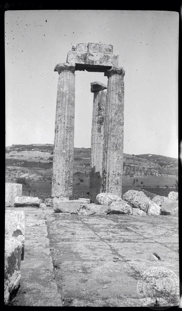 Nemea. Temple of Zeus. Dorothy Burr Thompson Greece 1924.