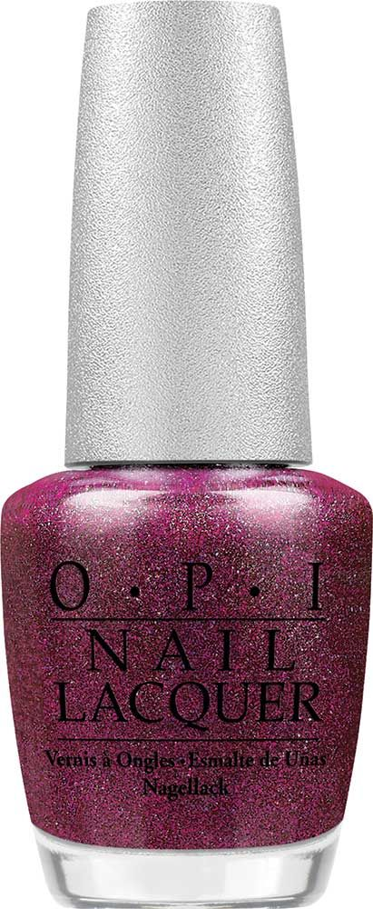 OPI Extravagance Nail Lacquer | Glittering, glamorous magenta. | Shimmer