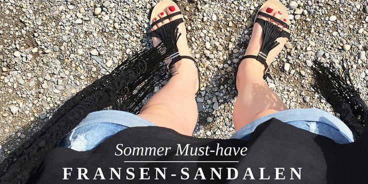 Sommer Must-have: Fransen-Sandalen