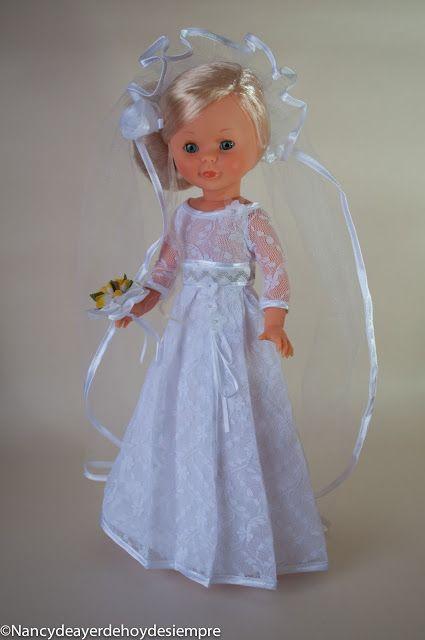 Nancy vestido novia