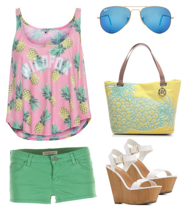"""Pineapple lover"" by gaby-srm on Polyvore"