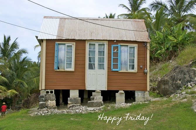 Charming little Chattel house in Barbados