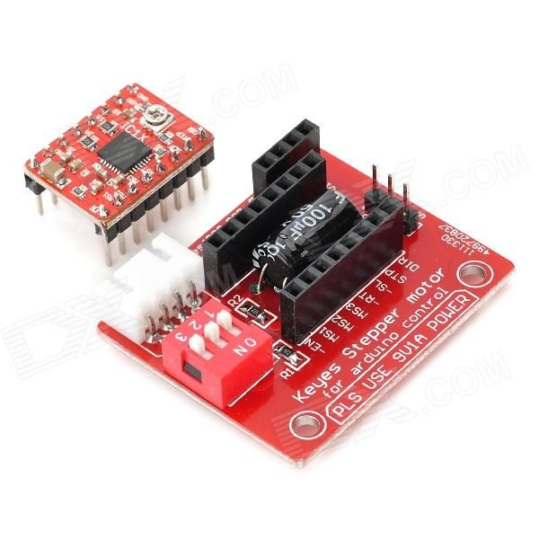 Keyes a4988 stepper motor driver control panel stepper for Controlling a stepper motor