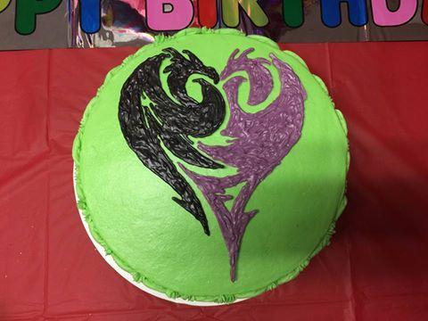 descendants cake design - Google Search