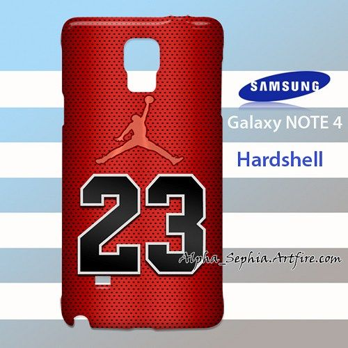 Michael Jordan 23 Samsung Galaxy Note 4 Case Cover Hardshell