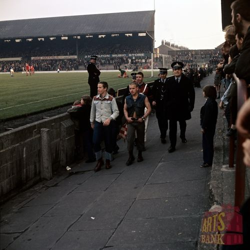 1970S BOOTBoy look Spot of Bother, Ayesome Park Middlesbrough Vs Cardiff City March 1973