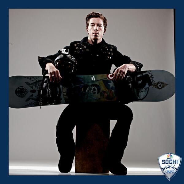Shaun White is a main reason why I watch the Olympics. He is a awesome snowboarder. And with his short hair he actually looks really cute.