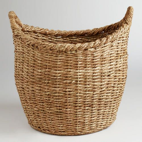 One Of My Favorite Discoveries At WorldMarket.com: Oversized Natural Avery  Basket (23.5